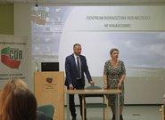 Delegacja z Łotwy w Małopolsce