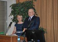 od lewej: Katarzyna Boczek – Z-ca Dyrektora CDR w Brwinowie, Stanisław Kacperczyk Prezes PZPRZ