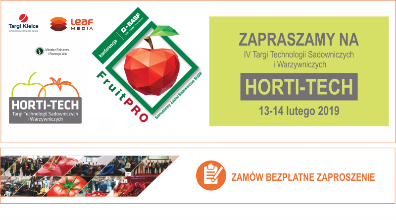 Targi Kielce zapraszają na Horti-Tech