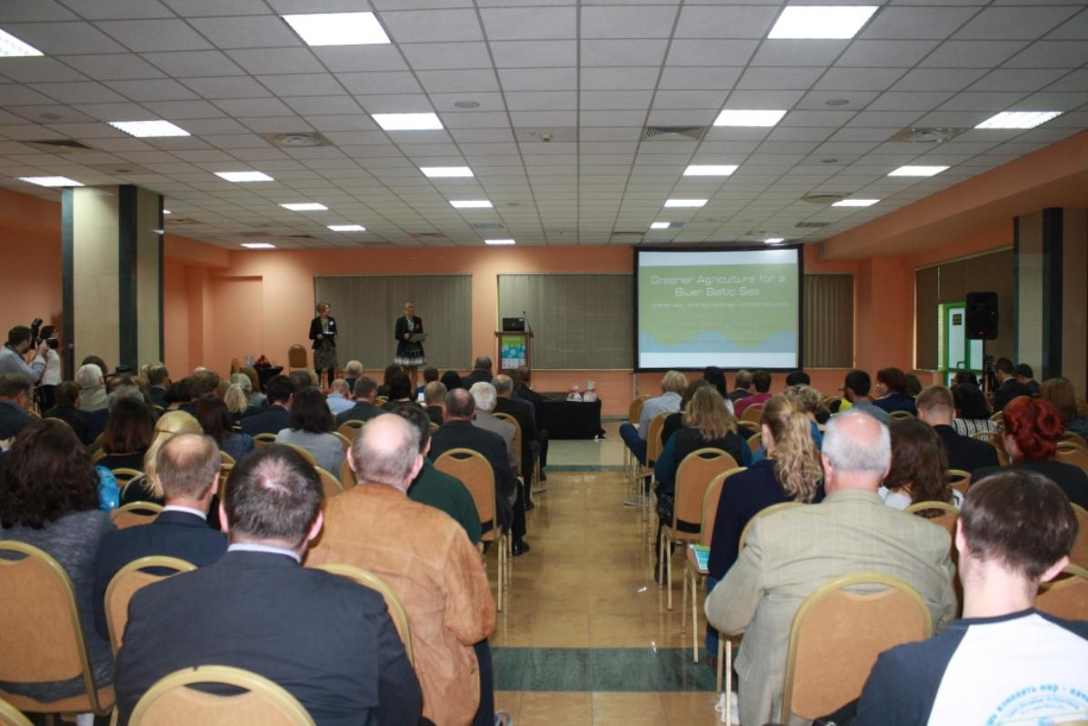 """Greener Agriculture for a Bluer Baltic Sea"" – relacja z konferencji"
