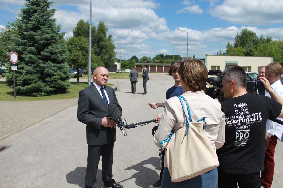 Konferencja prasowa ministra rolnictwa w Radomiu