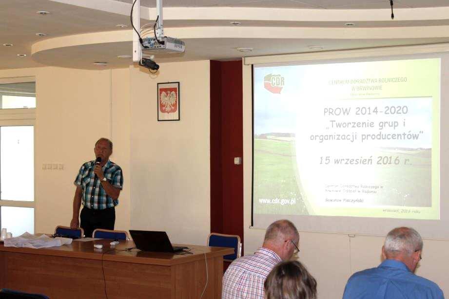 Wsparcie finansowe grup producentów rolnych w ramach PROW 2014-2020