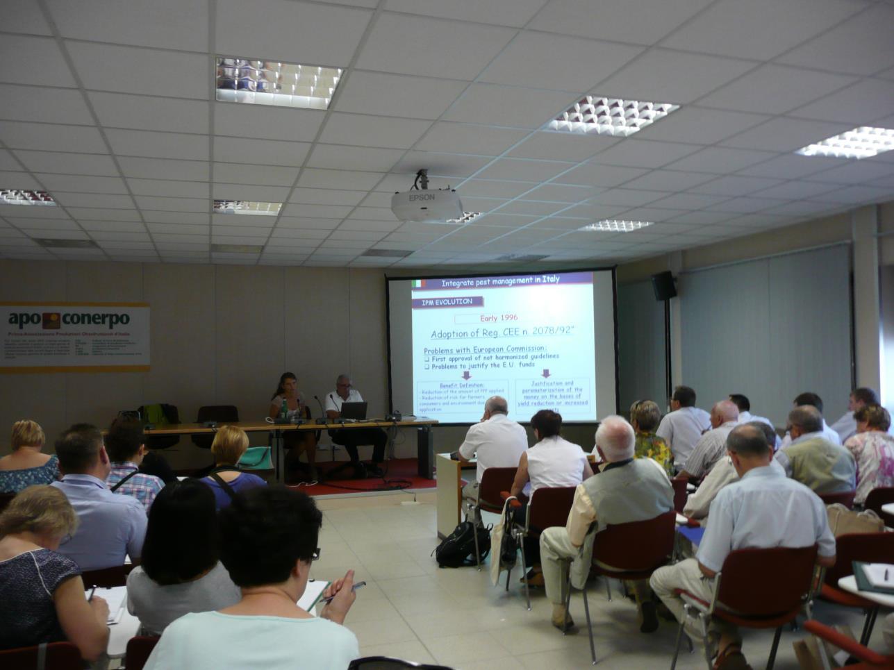 Organizacja suby ochrony rolin Dr Tiziano Galassi