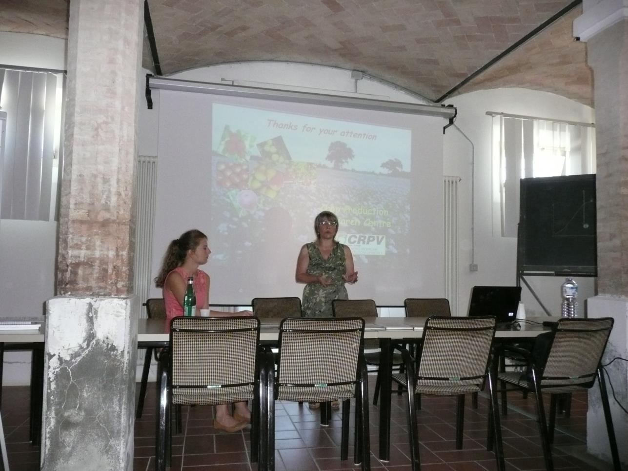 Siedziba CRPV Badawczego Centrum Produkcji Rolnej w Cesenie