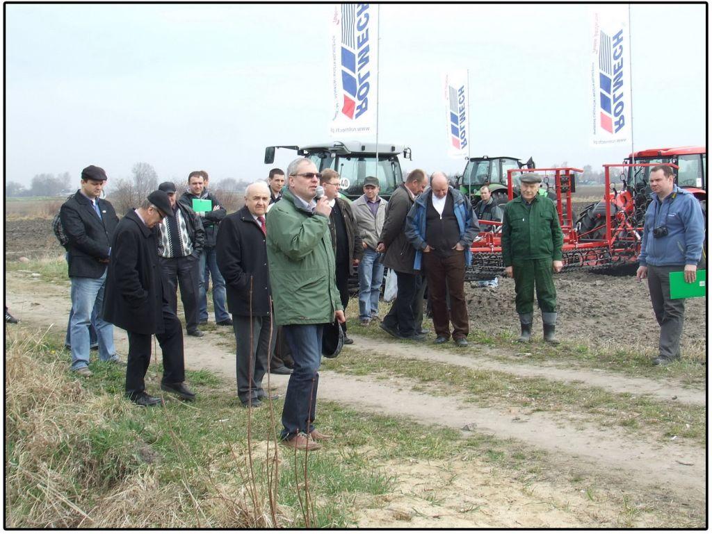 Relacja ze szkolenia i pokazu pracy maszyn do uprawy przedsiewnej gleby