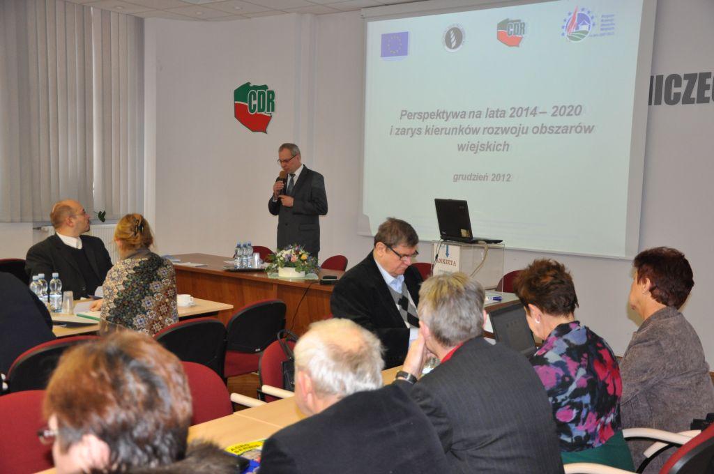 Realizacja PROW na lata 2007-2013, zmiany zachodzące w rolnictwie i na obszarach wiejskich oraz przyszłość WPR – relacja z konferencji