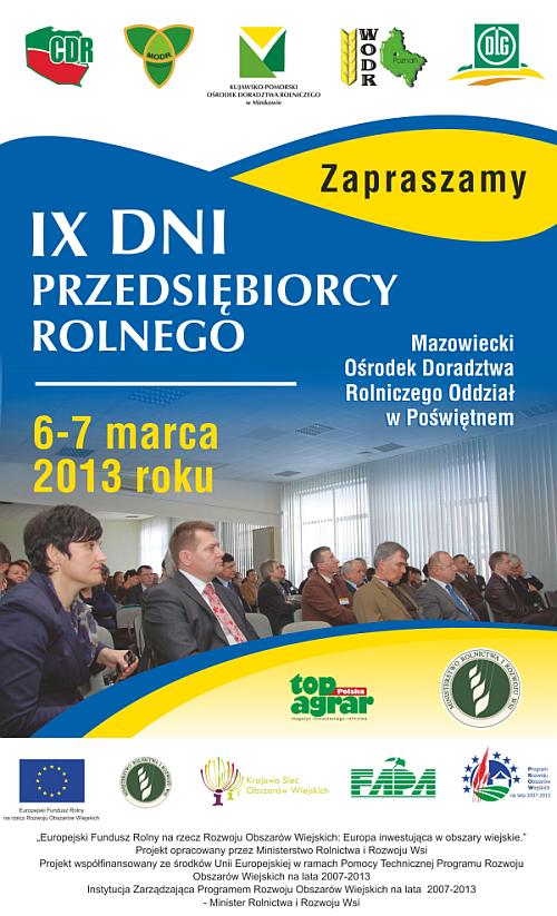 IX Dni Przedsiębiorcy Rolnego -