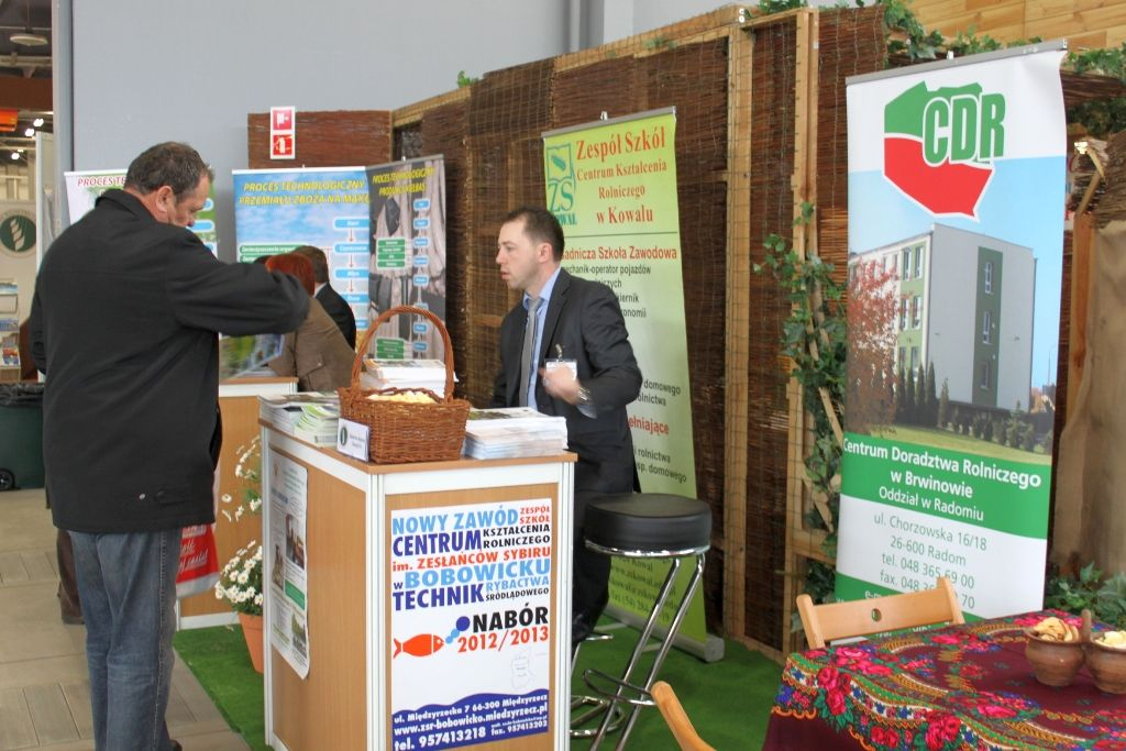 Promocja żywności ekologicznej i przetwórstwa na poziomie gospodarstwa na Targach Agrotravel